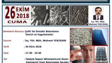 Photo of Çelik Tel Donatılı Betonlama Teorisi ve Uygulamaları-Gaziantep