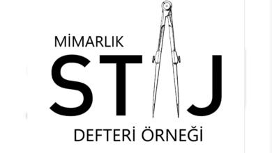 Photo of Mimarlık Ofis Staj Defteri Örneği