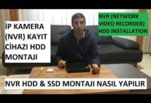 Photo of NVR Kayıt Cihazına HDD Ekleme, Değiştirme ve Montaj